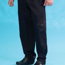 DC18B Dennys Black Elasticated Trouser